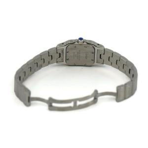 Cartier Santos Stainless Steel Watch 1565