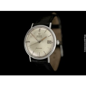 1960's Omega Seamaster Vintage Mens Cal. 560 SS Steel Watch, Rare Only 3000 Made