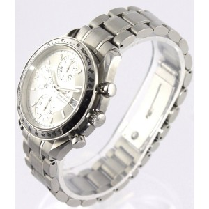 ORIGINAL OMEGA SPEEDMASTER 3513.30 AUTOMATIC CHRONOGRAPH SILVER MENS STEEL WATCH