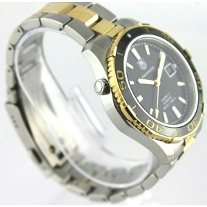 TAG HEUER AQUARACER WAK2122.BB0835 AUTOMATIC GOLD CERAMIC MENS PRESTIGE WATCH