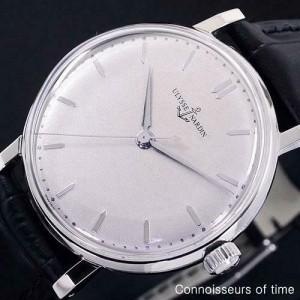 1950's ULYSSE NARDIN Vintage Mens Stainless Steel Watch - Mint with Warranty
