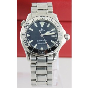 OMEGA SEAMASTER 2263.80 PROFESSIONAL MIDSIZE ELECTRIC BLUE MENS WATCH