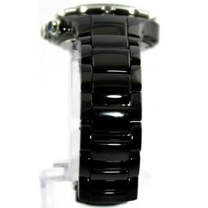 MICHELE TAHITIAN MWW12A000005 BLACK CERAMIC CHRONOGRAPH DIAMOND LADIES WATCH