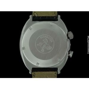 1970 OMEGA SEAMASTER MEMOMATIC Vintage Mens Retro Alarm SS Watch - Near NOS
