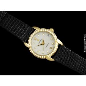 CONCORD IMPRESARIO Ladies 18K Gold & Factory Diamond - $7,900, Mint w/ Warranty