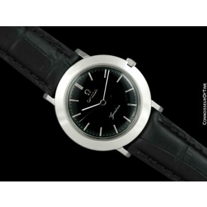 1971 Omega Geneve Vintage Mens SS Steel Disco Volante Watch - Mint with Warranty