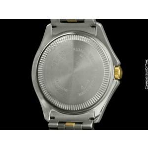 BAUME & MERCIER MALIBU Mens SS Steel & 18K Gold Watch, $5000, Mint with Warranty