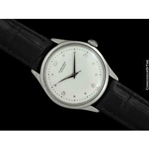 1960's ULYSSE NARDIN Vintage Mens Explorer Dial SS Steel Watch - Mint - Warranty