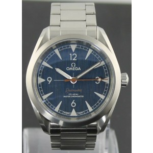 OMEGA SEAMASTER RAILMASTER 220.10.40.20.03.001 AUTOMATIC CO-AXIAL LUXURY WATCH