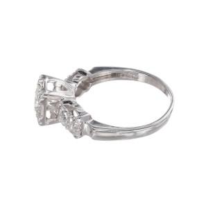 .50 Carat Diamond Gold Mid-Century Engagement Ring