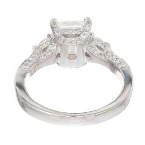 Peter Suchy GIA Certified 2.02 Carat Diamond Platinum Engagement Ring
