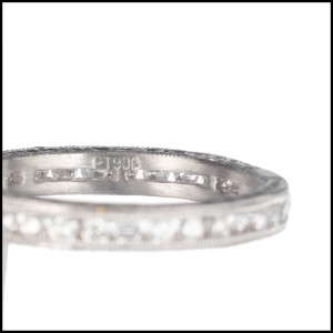 Peter Suchy GIA Certified 1.04 Carat Diamond Platinum Engagement Ring