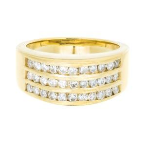 Peter Suchy GIA Certified .98 Carat Yellow Diamond Rose Gold Ring