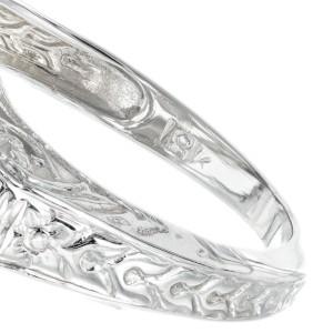 .13 Carat Diamond White Gold Open Work Art Deco Ring