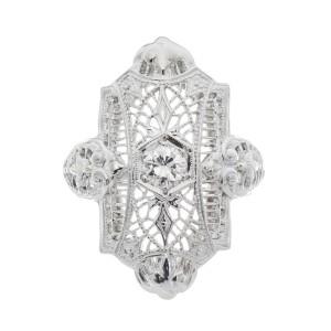 .18 Carat Diamond White Gold Ring