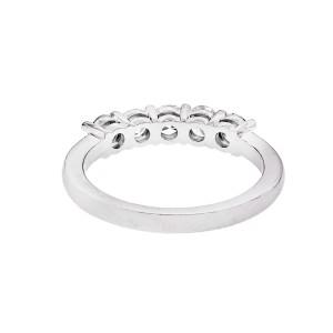 Peter Suchy 5 Diamond Platinum Wedding Band Ring