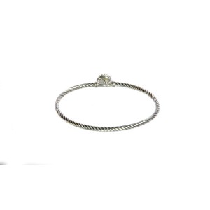David Yurman Chatelaine Sterling Silver with Turquoise Bracelet