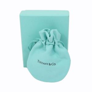 Tiffany & Co. 18K White Gold & Diamond Crown Key Pendant Necklace
