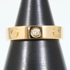 Cartier 18K Rose Gold Mini Love Ring Size 3.5