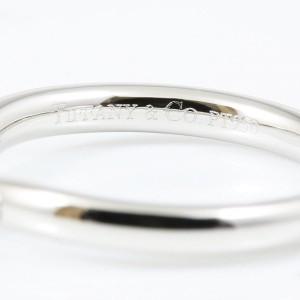 Tiffany & Co. PT950 Platinum Diamond Wedding Ring Size 4.5