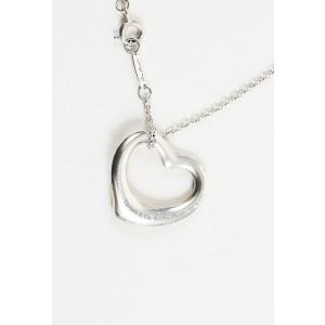 "Tiffany & Co. Sterling Silver ""Open Heart"" Pendant Necklace"