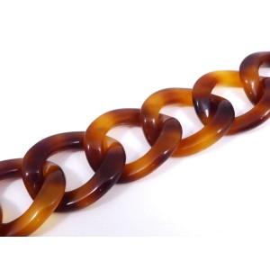 Chanel Gold Tone Tortoiseshell Bracelet