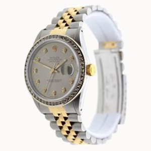 Rolex Datejust Stainless Steel & Yellow Gold Watch 36mm