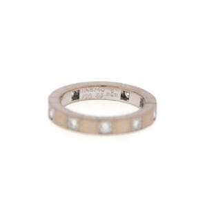Cartier Lanieres 18K White Gold Diamond Ring Size 5