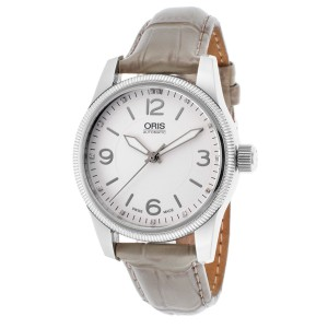 Oris Swiss Hunter 733-7649-4031-LS Team Diamond Stainless Steel Watch