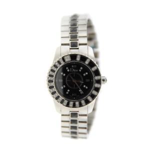 Christian Dior Christal CD112116M001 Diamond Stainless Steel Watch