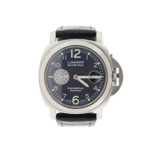Panerai Luminor Marina PAM86 Anthracite Dial Stainless Steel Watch