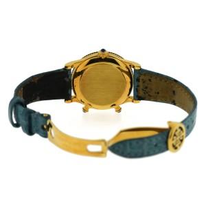 Patek Philippe 4864J Calatrava Travel Time 18K Yellow Gold & Leather 29.5mm Womens Watch
