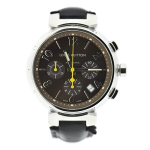 Louis Vuitton Tambour Q1121 41mm Mens Watch