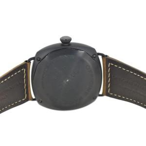 Panerai Radiomir PAM292 Black Seal Ceramic & Brown Strap 45mm Mens Watch