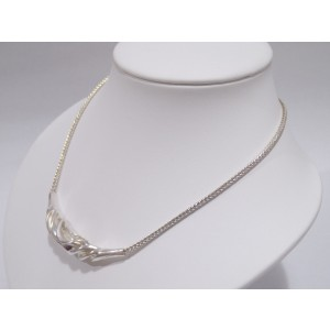 Hans Hansen Sterling Silver Necklace