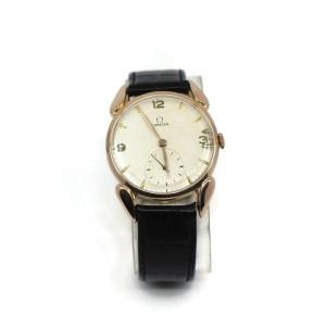 Omega Chronometer Vintage 18K Rose Gold Watch 30T2