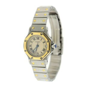 Cartier Santos Octagon 18K/Stainless Steel Watch