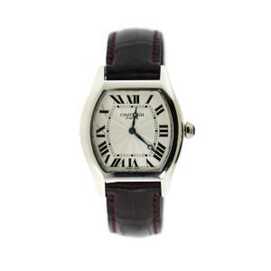 Cartier Tortue Platinum Watch W1546151