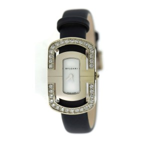 Bvlgari Parentesi Diamond 18K White Gold Watch PAW35G