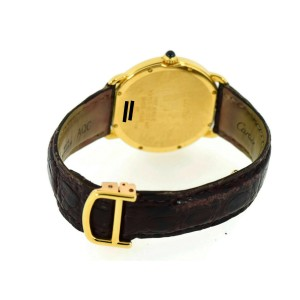 Cartier Ronde Louis Midsize 18K Yellow Gold Watch 0900