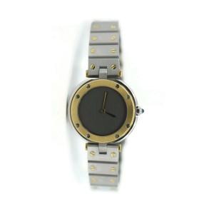 Cartier Santos Octagon 18K/Stainless Steel Watch