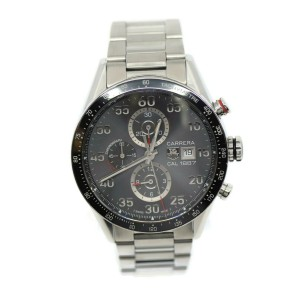 Tag Heuer Carrera CAL1887 Chronograph Stainless Steel Watch CAR2A11