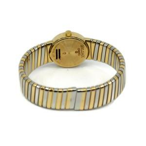 Bvlgari Tubogas 18K Tri Color Gold Watch BB23