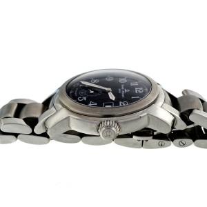 Baume & Mercier Black Dial Automatic Steel Capeland Wrist Watch