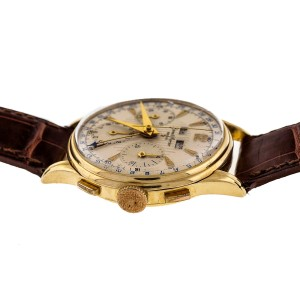 Baume & Mercier 18K Yellow Gold Vintage Manual 36mm Mens Watch