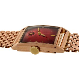 Bulova 14K Rose Gold Brooch