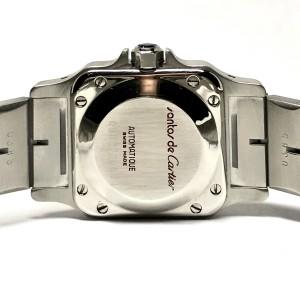 CARTIER SANTOS GALBEE 24mm Automatic 2 Tone Ladies Watch