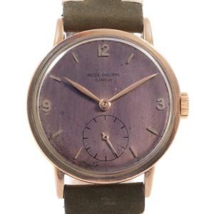 Patek Philippe Calatrava 1513 Vintage 35mm Mens Watch