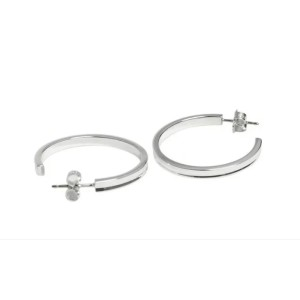 cf8e23500 Tiffany & Co.1837 Sterling Silver Hoop Earrings | Tiffany & Co. | Buy at  TrueFacet