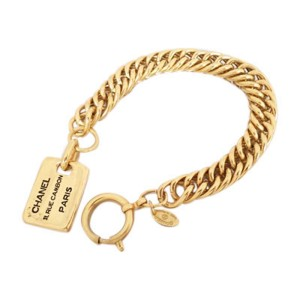 Chanel Metal Gold Bracelet